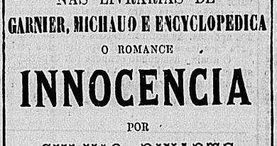 Inocência: Primeira publicação